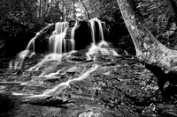 Lower Falls B&W