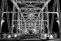 Nashville Bridge B&W