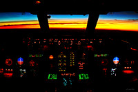 Sunrise at 33,440'